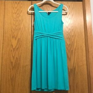 Stretchy Turquoise Dress